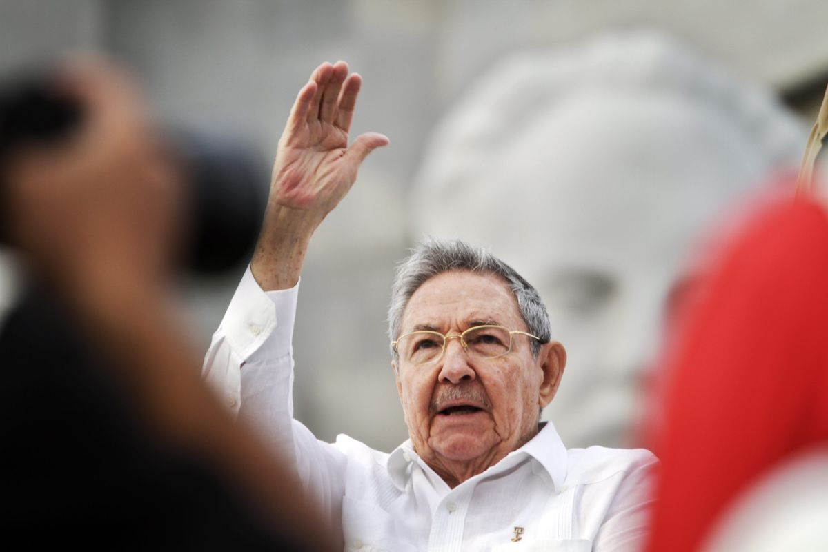 Raul castro may day