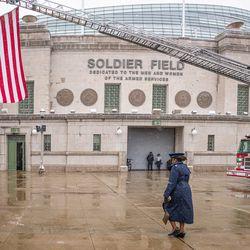 Veteran's Day at Soldier Field on Monday, Nov. 11, 2019.