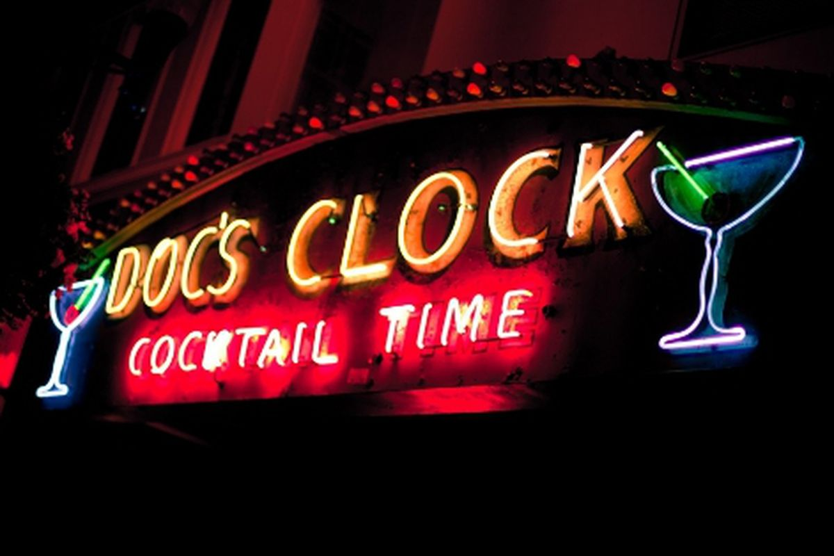Doc's Clock in the Mission.