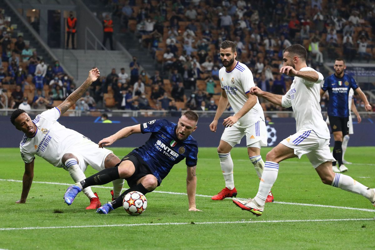Inter v Real Madrid: Group D - UEFA Champions League