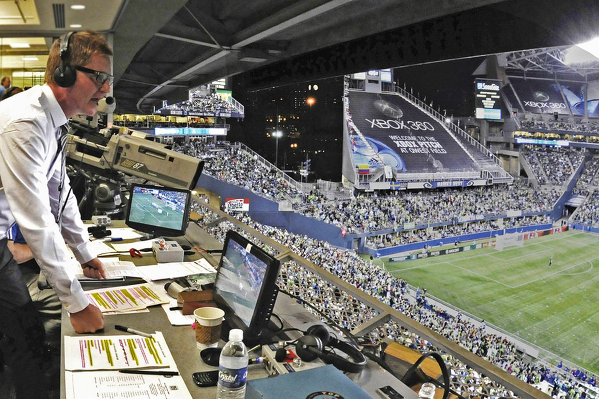 Arlo White managed to become a significant piece of the Seattle Sounders community in just two years. He will be missed. (Photo courtesy of SoundersFC.com)