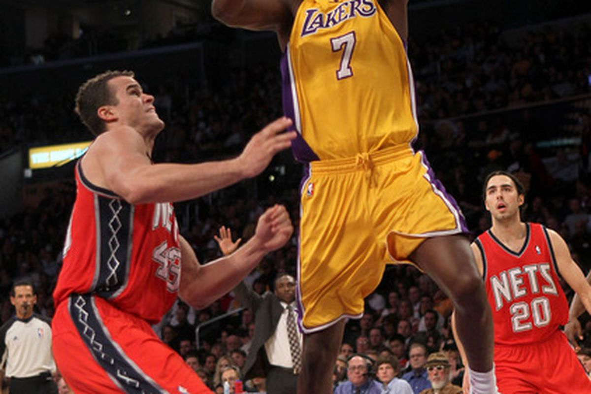 d62133645 Lakers Beat Nets For Seventh Straight Win - SB Nation Los Angeles