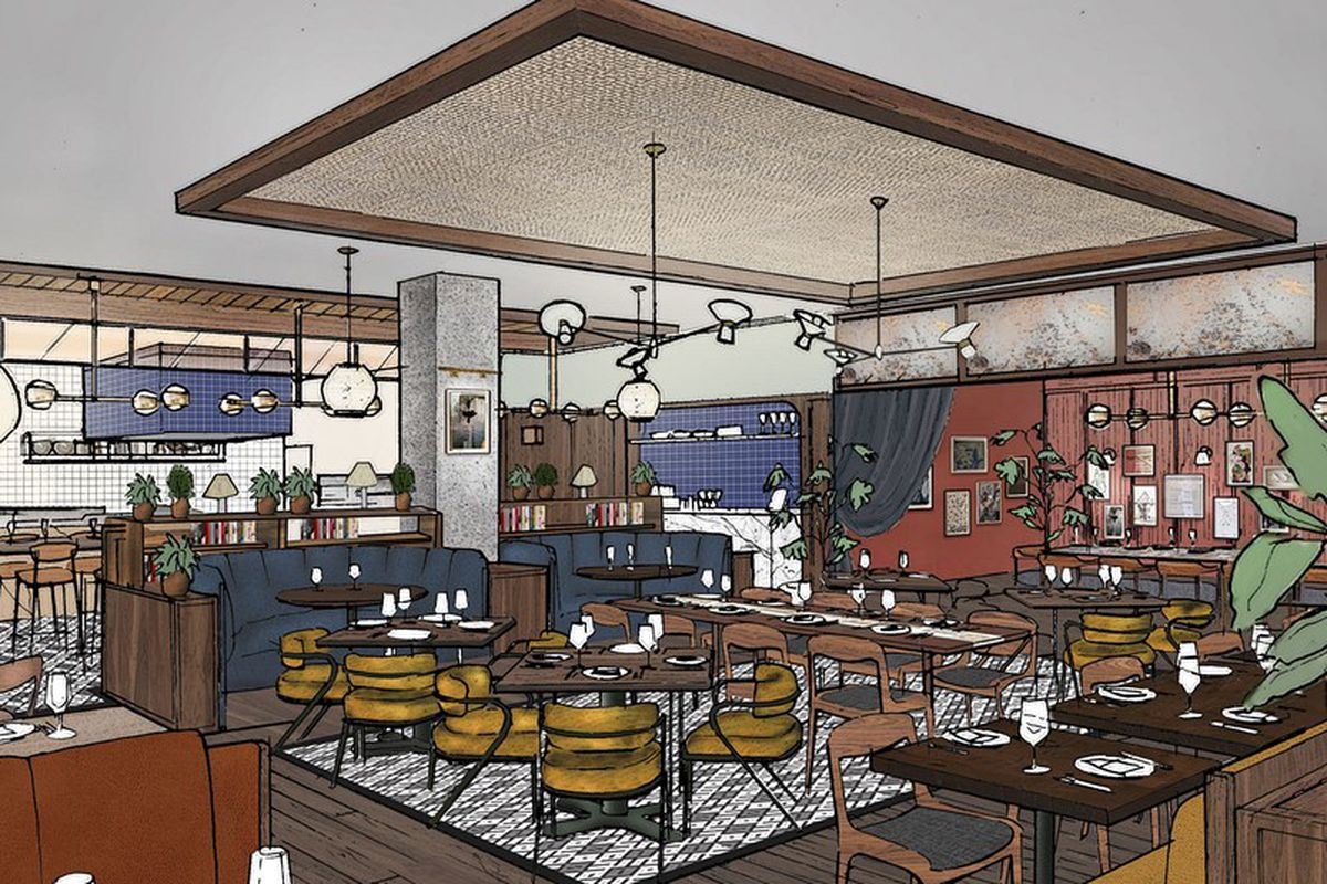 A Rendering Of What Cira May Look Like Hoxton Hotel Chicago Official