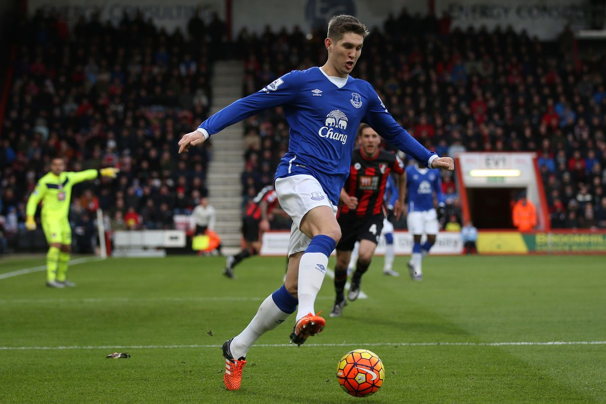 Has John Stones committed to Everton for the rest of the season