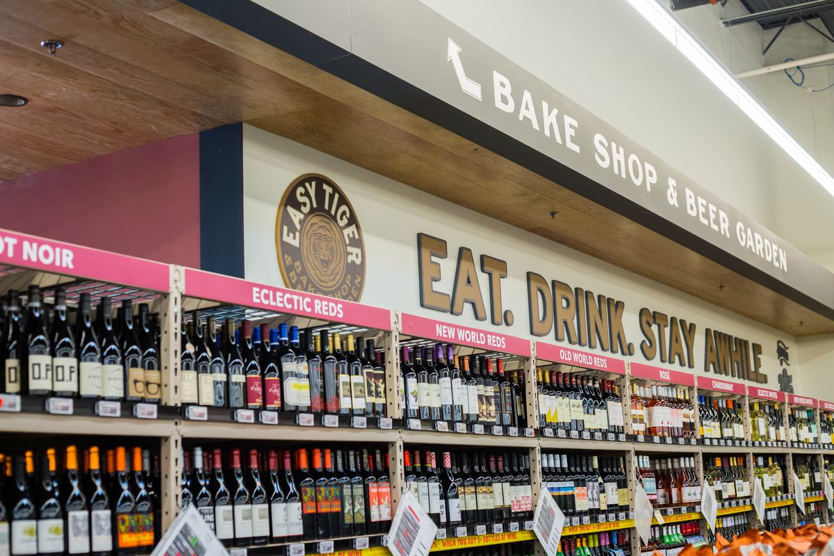 Sign for Easy Tiger within 365 by Whole Foods