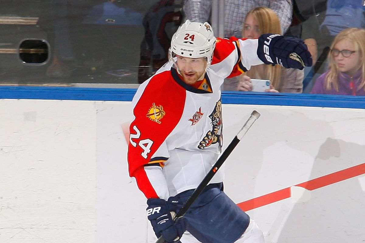 Brad Boyes led the Panthers to a win over Buffalo.