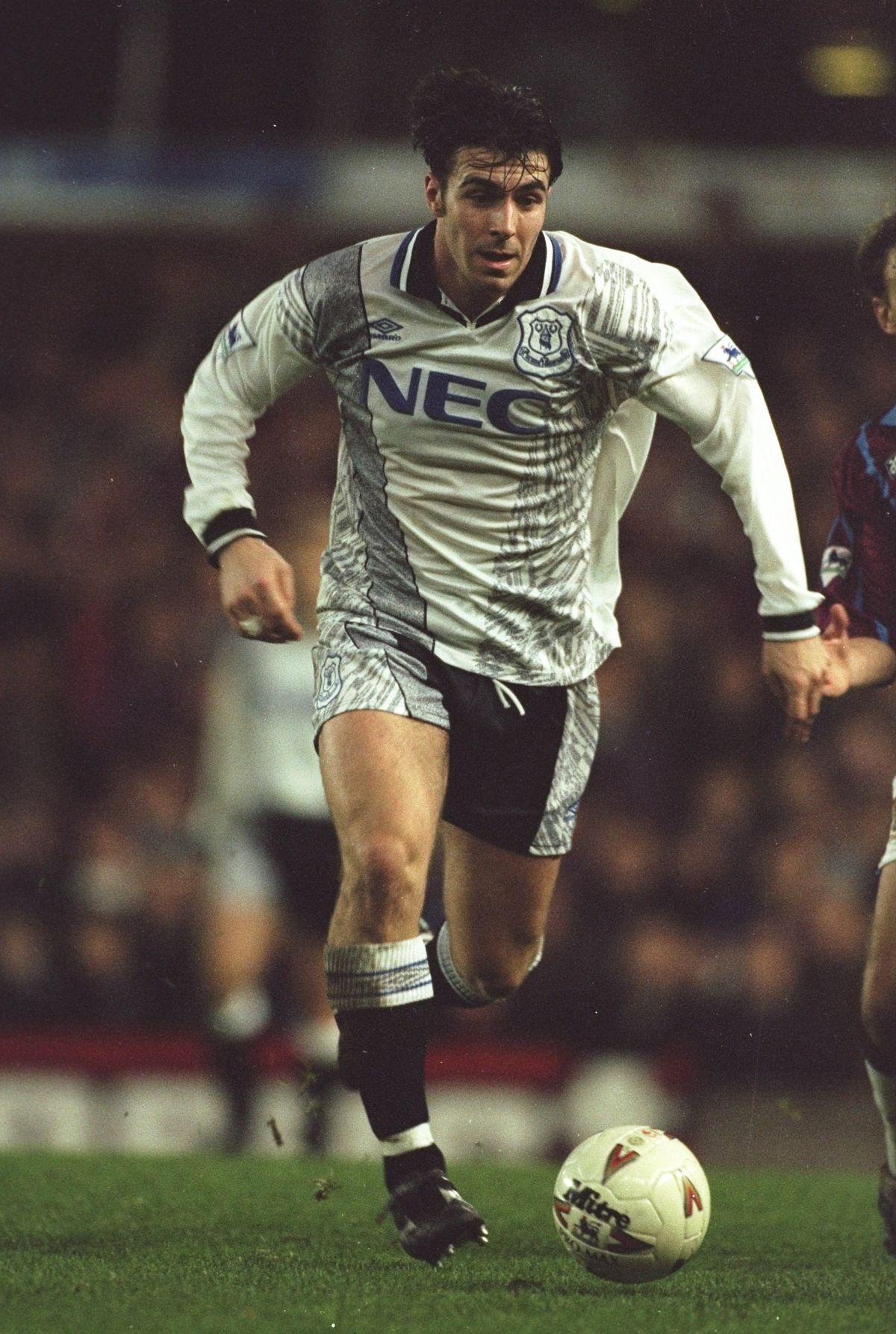 David Unsworth of Everton
