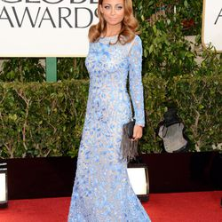 Designer and style icon Nicole Richie, looking BOMB.com in blue Naeem Khan