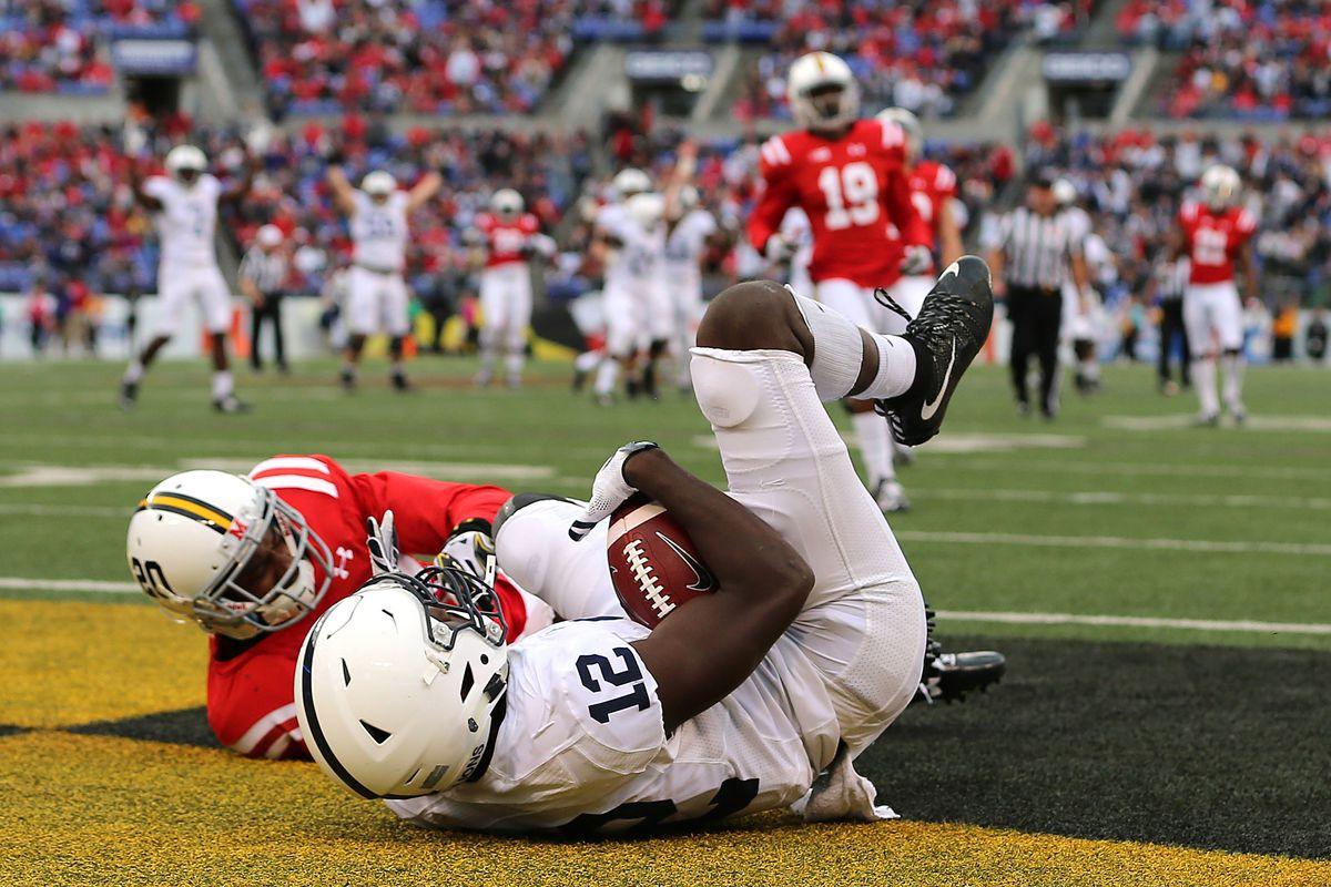 NCAA Football: Penn State at Maryland