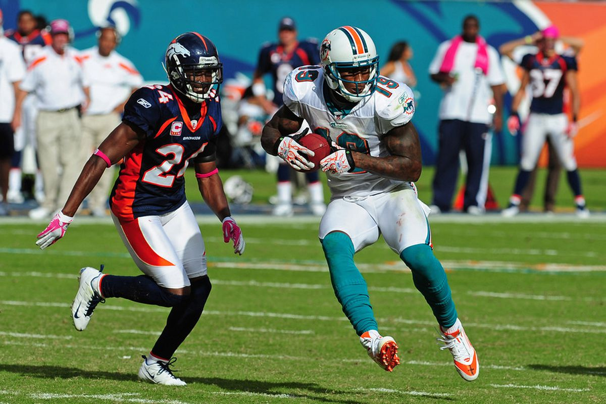 innovative design 211b9 17c9c Dolphins Vs Chiefs: Brandon Marshall And Then Who ...
