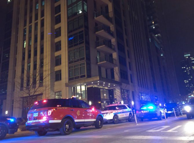 Darrin Joss was shot to death March 2 while using the gym at the Alta at K Station apartment complex on Kinzie Street west of the Chicago River.   Sam Charles / Sun-Times file photo