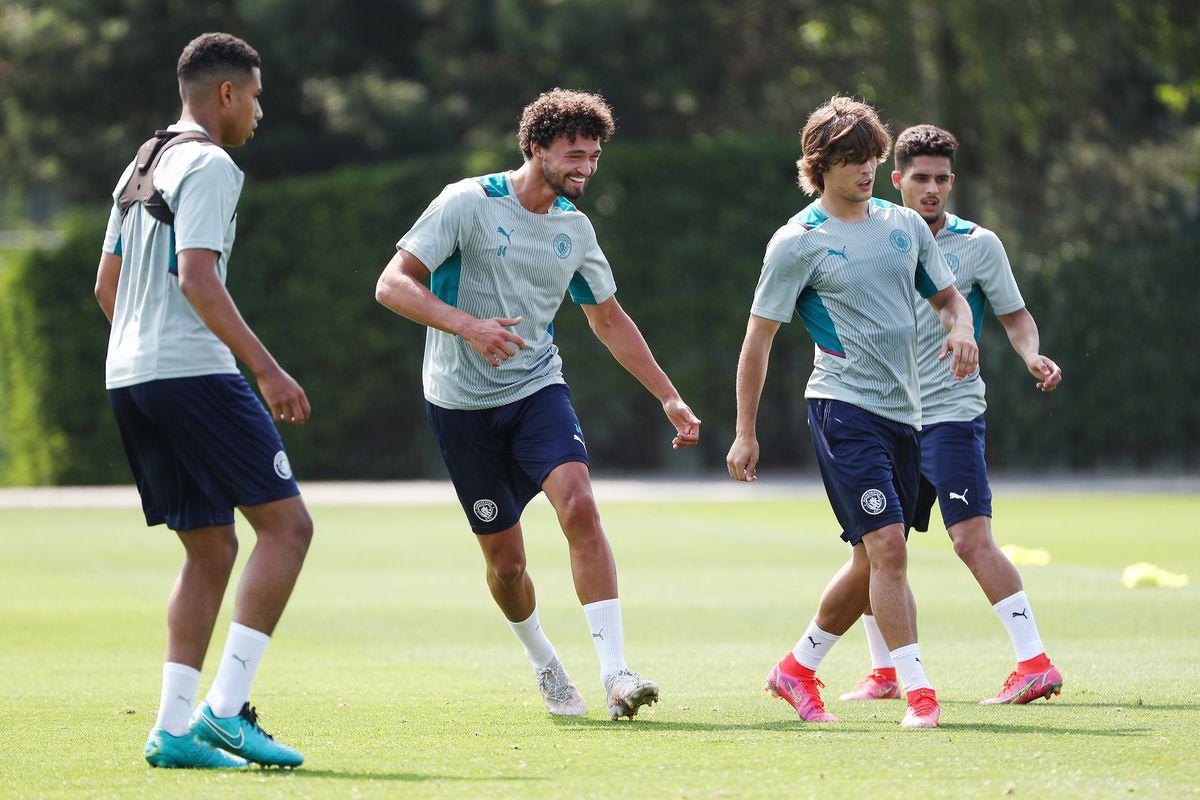Manchester City Pre-Season Training Session