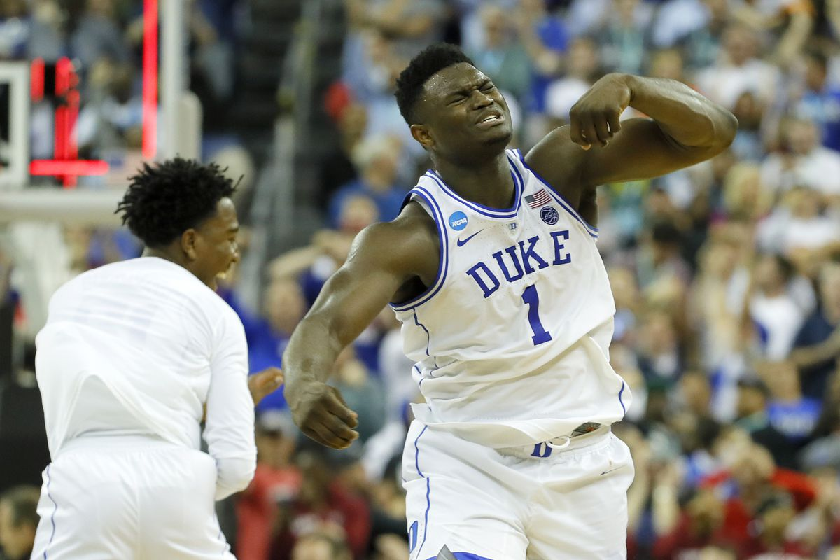 7033bff6e096 March Madness 2019  Zion Williamson headlines All-Second Round Team ...
