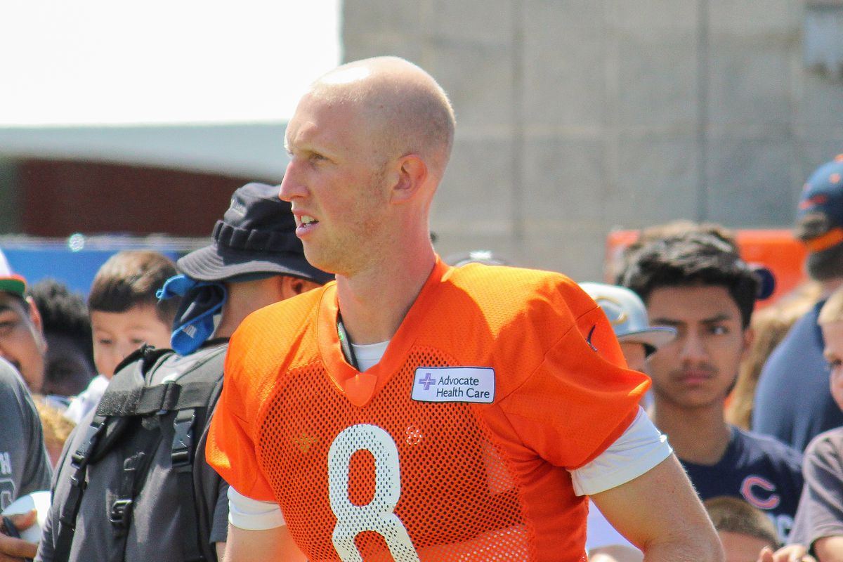 reputable site 6252c e17c2 Chicago Bears' Mike Glennon is a tier 4 quarterback - Windy ...