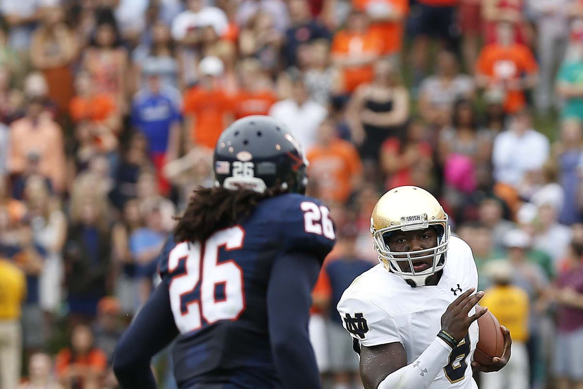 Maurice Canady and the Hoos have a lesser challenge this week.