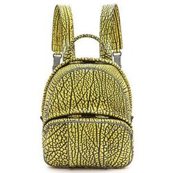 """Meanwhile, from <b>Alexander Wang's</b> namesake line comes the Dumbo backpack, <a href=""""http://www.shopbop.com/dumbo-backpack-alexander-wang/vp/v=1/1589456082.htm?folderID=2534374302055388&fm=other-viewall&colorId=12895"""">$1,195</a>, in painted leather wi"""
