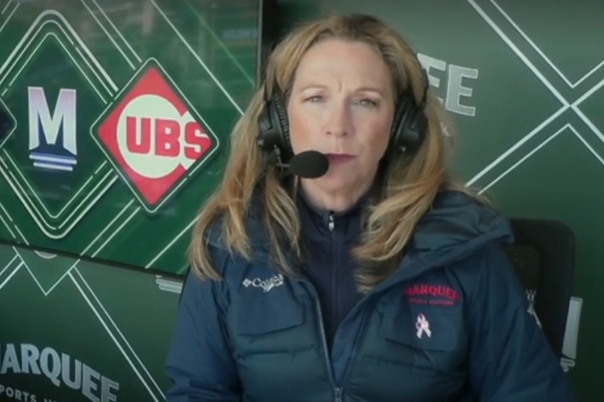 Beth Mowins makes history on a Cubs broadcast look easy on Mother's Day  weekend - Bleed Cubbie Blue