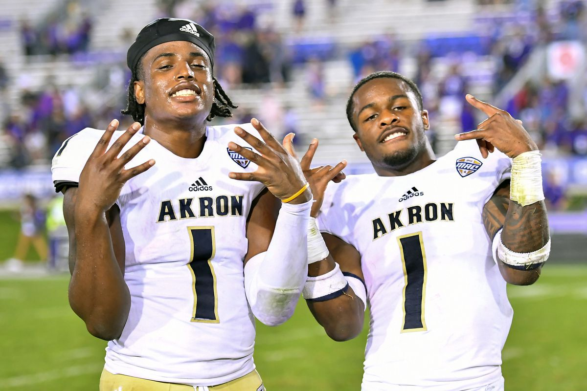 best service 6e9a7 ecedb 2018 MAC Football Game Preview: Akron Zips at Kent State ...