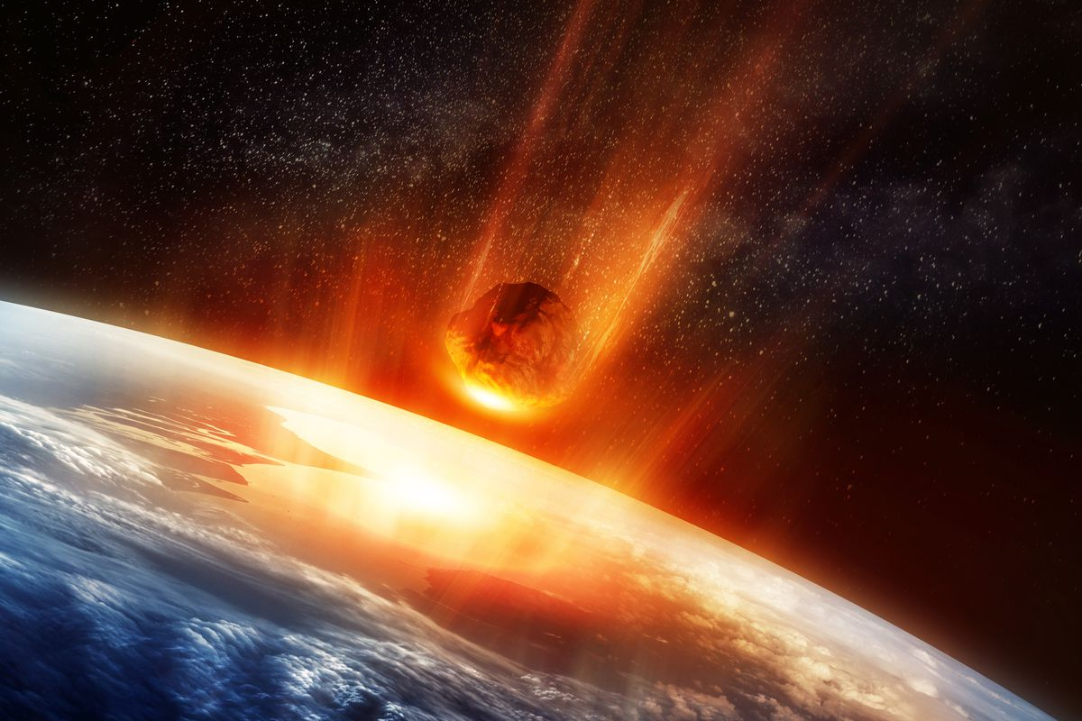 The dinosaurmurdering asteroid maybe also triggered an