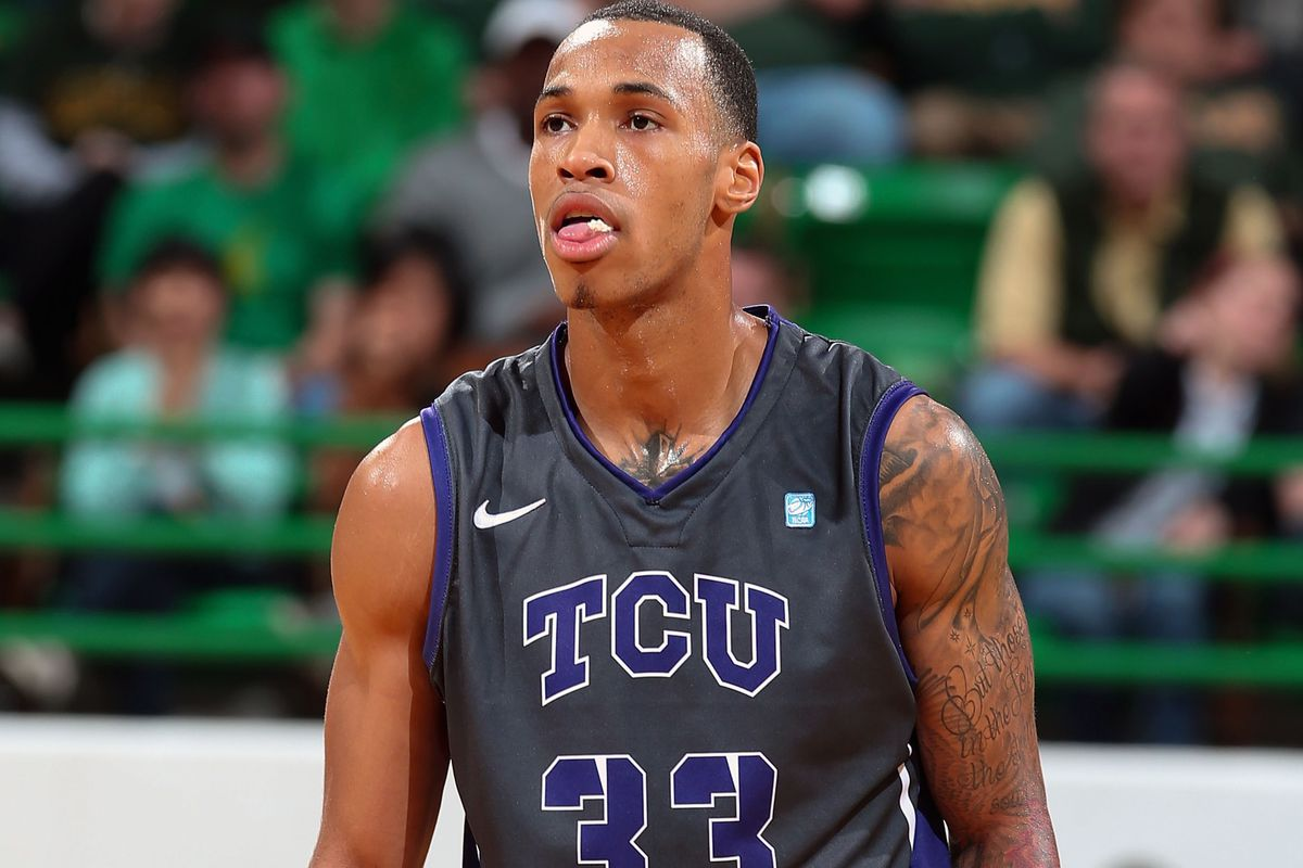 I made this face after every failed TCU free throw attempt