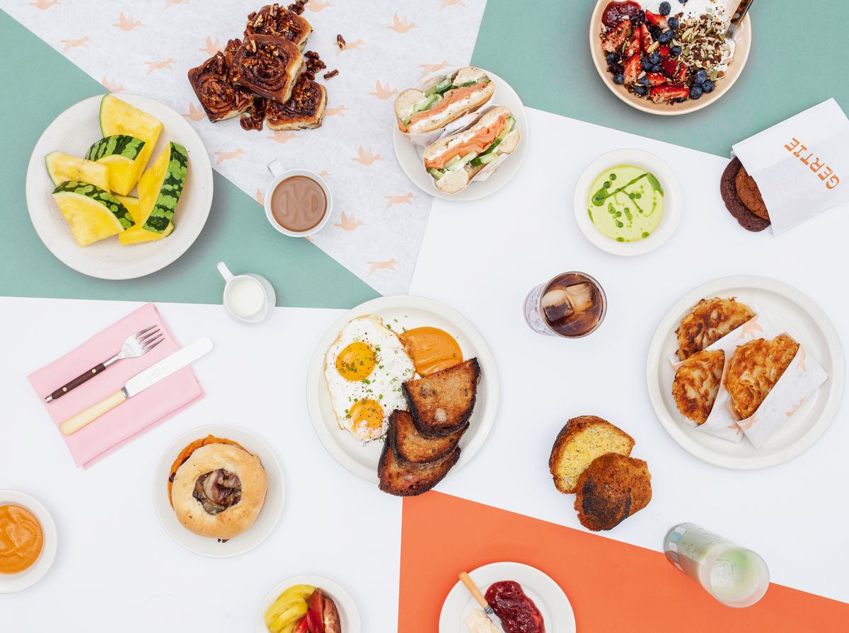 Gertie breakfast spread