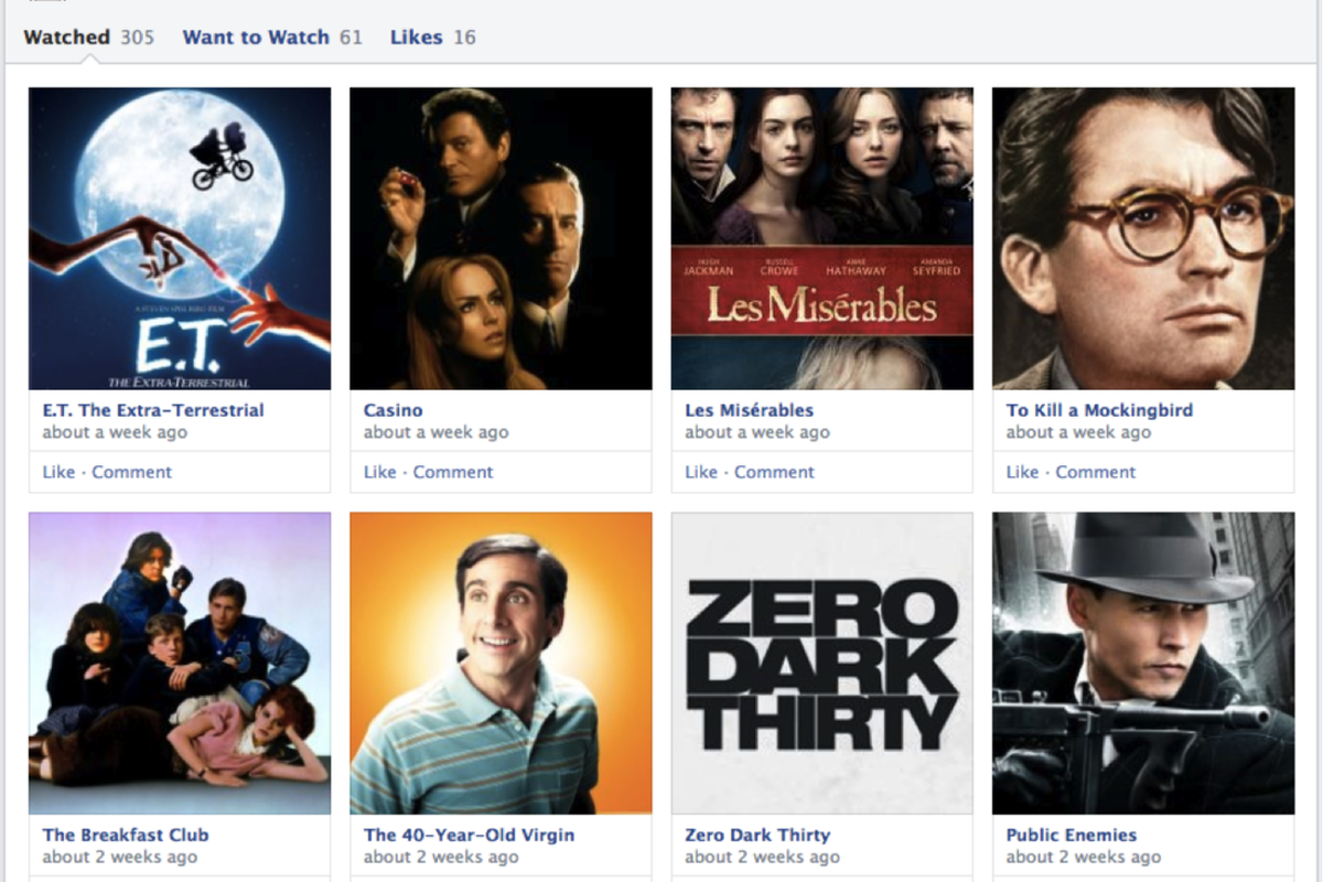 Facebook Like Redesign
