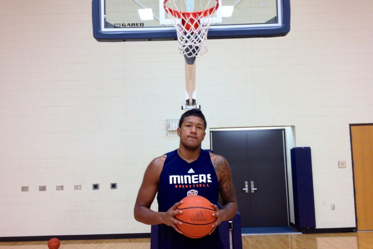 Malcolm Moore at the Foster Stevens Basketball Complex 7/12/2012