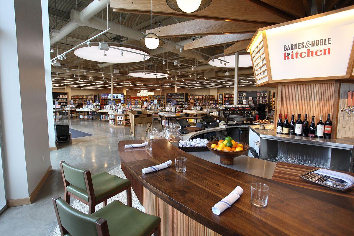 Barnes & Noble's New Restaurant Serves $26 Entrees - Eater