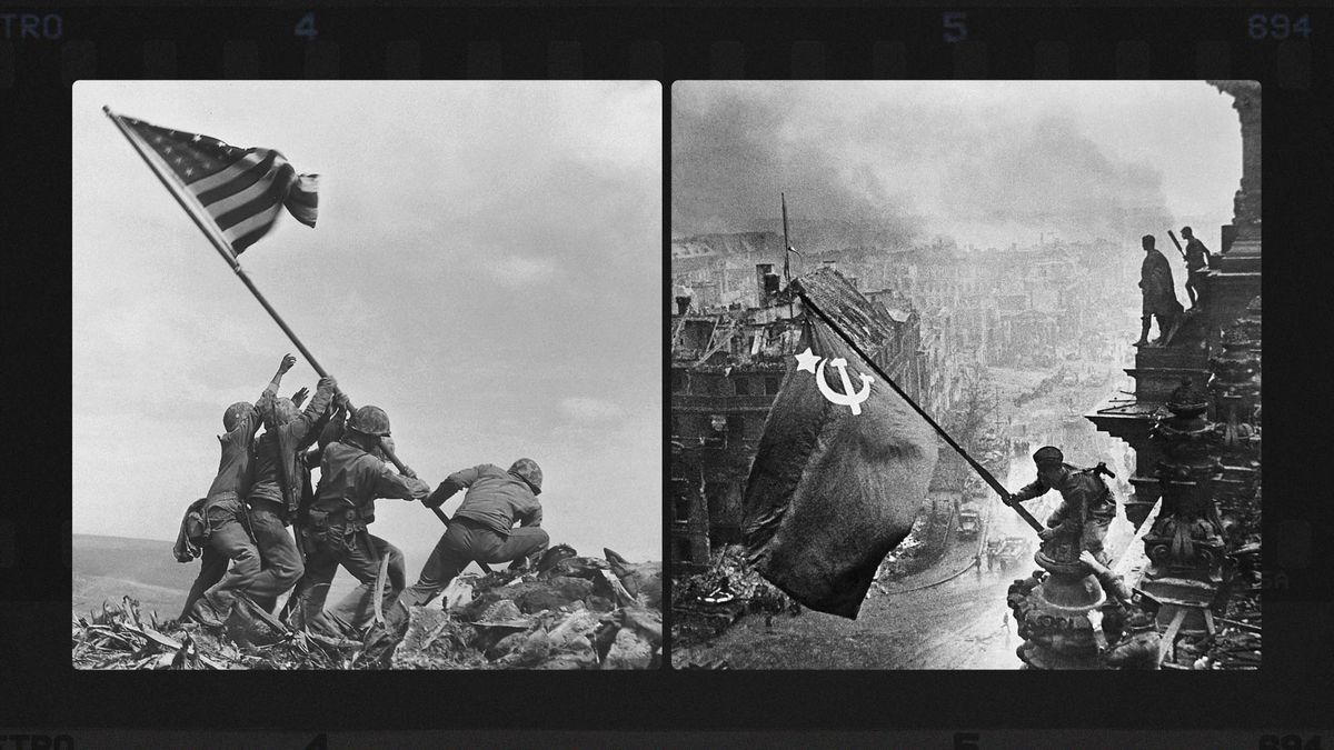Why the Soviets doctored this iconic photo - Vox