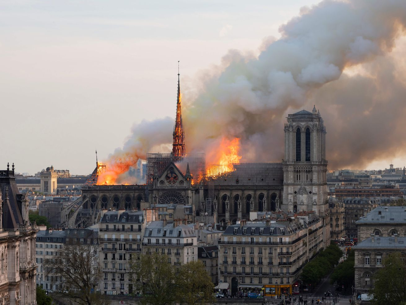 Notre Dame fire: Competition launched to replace iconic spire