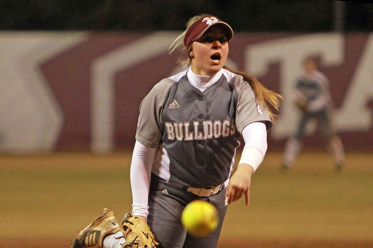 Alexis Silkwood struck out a career-high 15 batters Thursday night