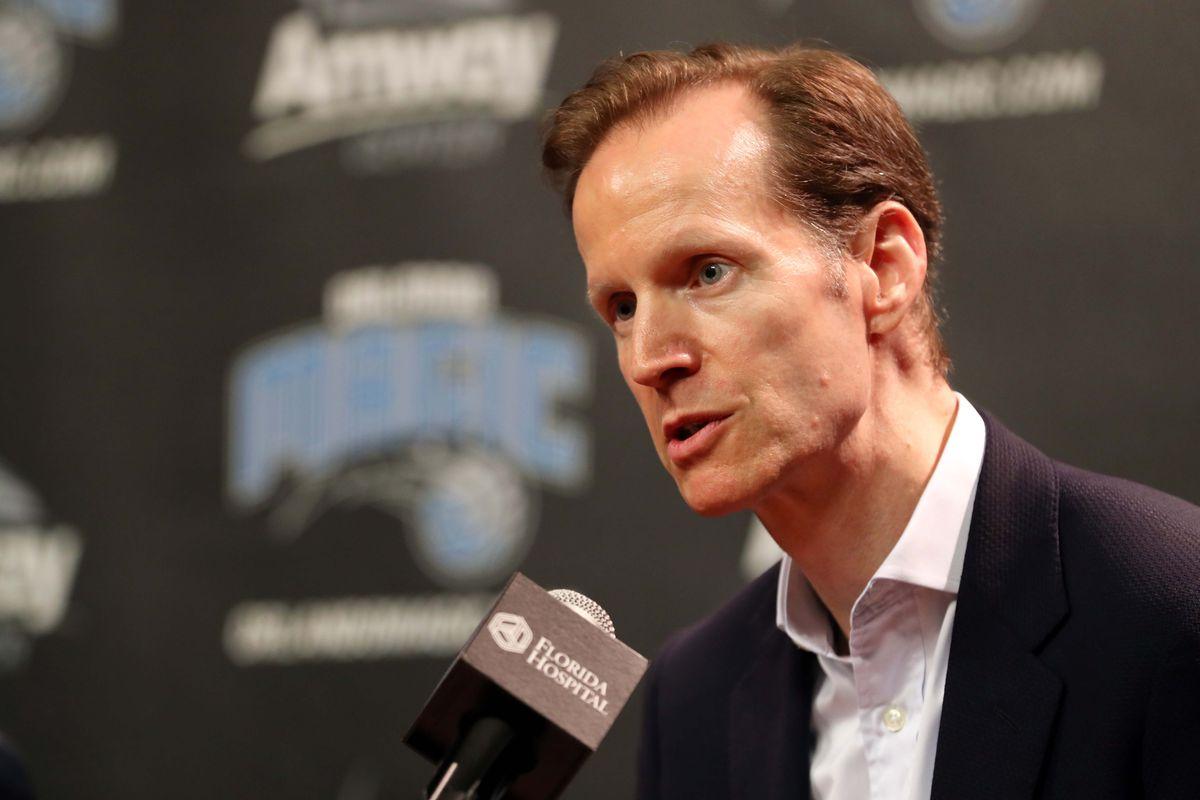 NBA: Orlando Magic-Press Conference