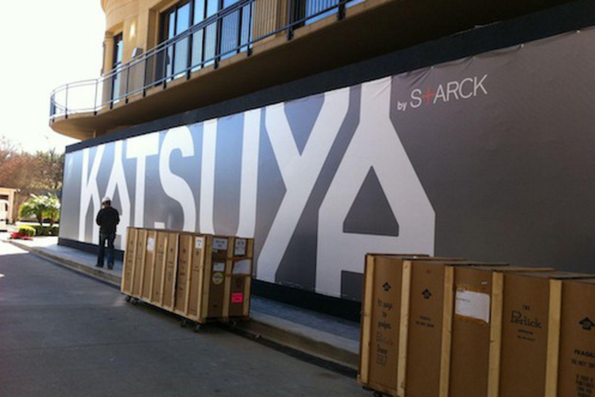 Houston's Katsuya by Starck will open this winter.