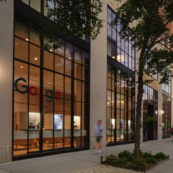 The Google Store in New York City