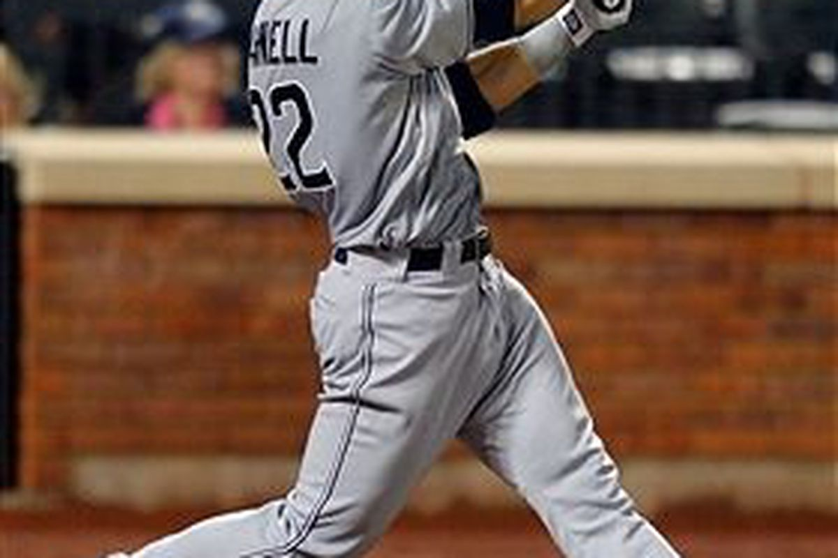 San Diego Padres prospect James Darnell (Photo by Paul Bereswill, Getty Images)