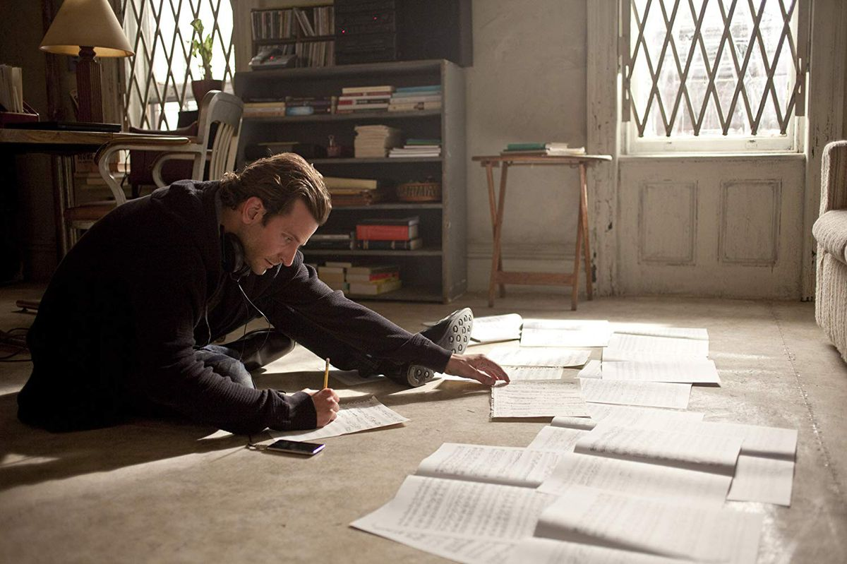 Bradley Cooper in Limitless.