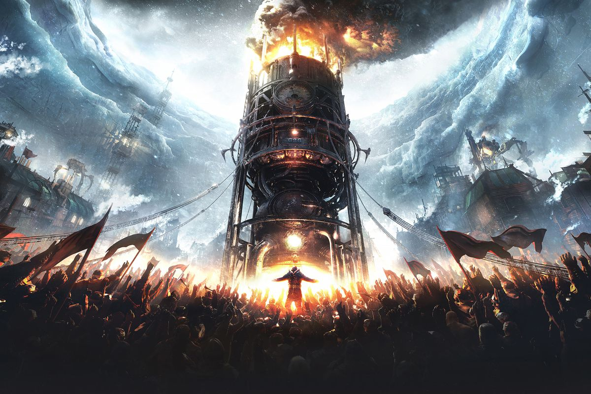 Cover art for Frostpunk: The Board Game