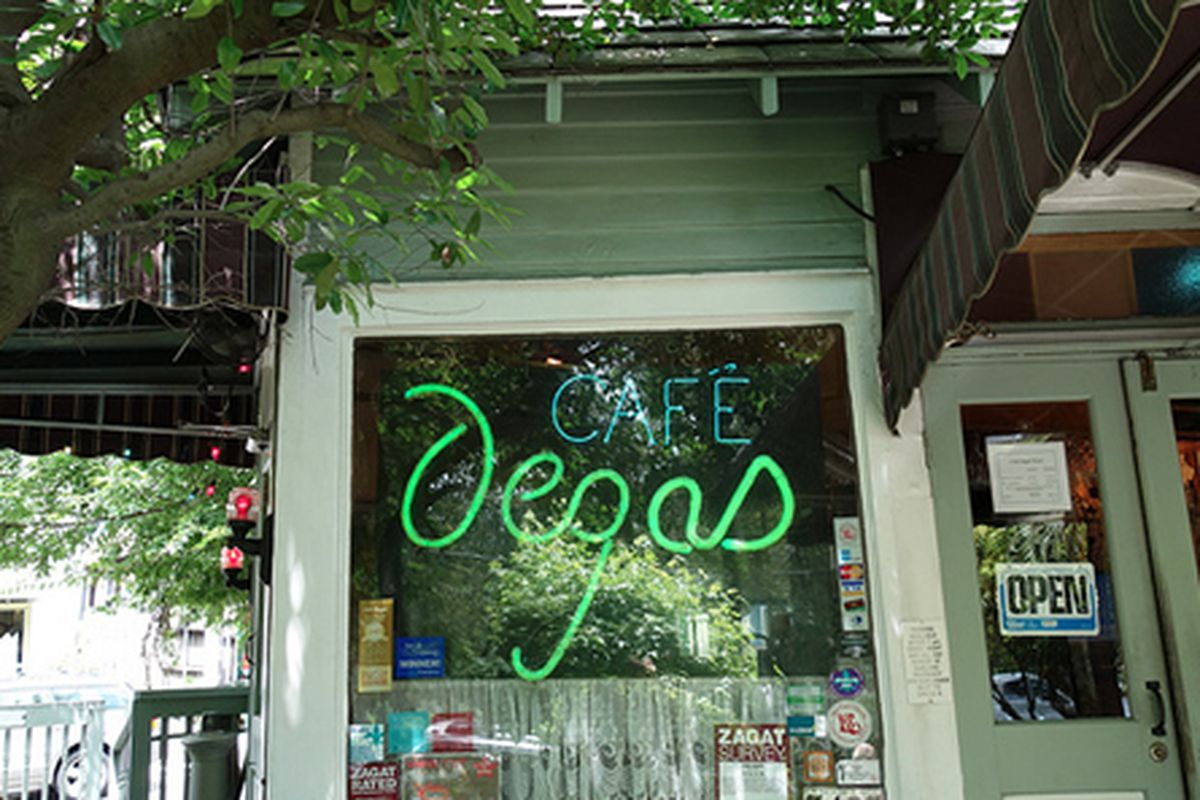Cafe Degas, New Orleans