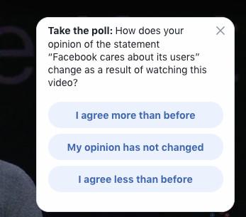 Facebook keeps asking whether its keynote makes people like
