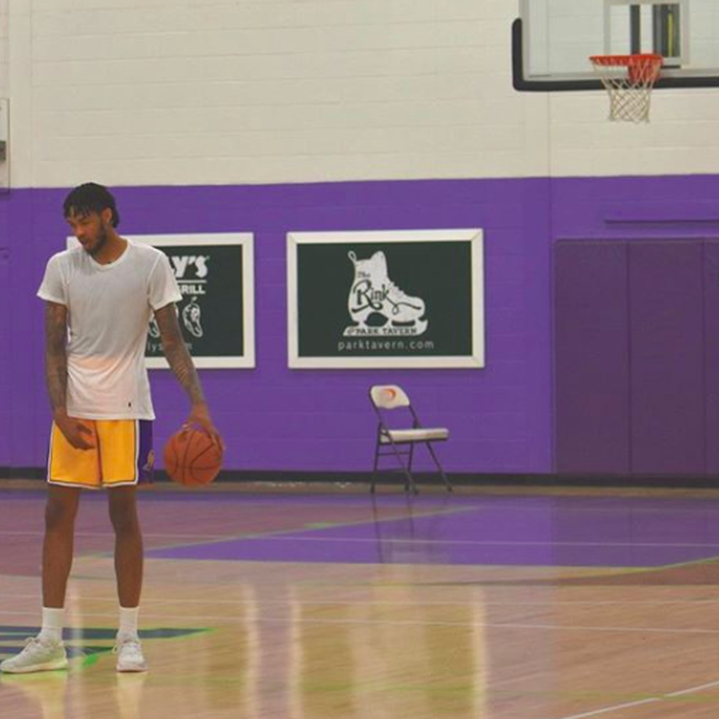 fbbdc260879 Lakers forward Brandon Ingram continues impressive offseason workouts -  Silver Screen and Roll