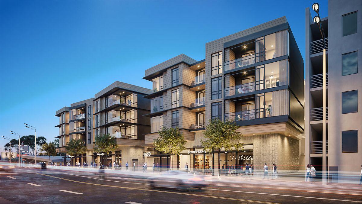 Santa Monica five-story mixed-use development has a new ...