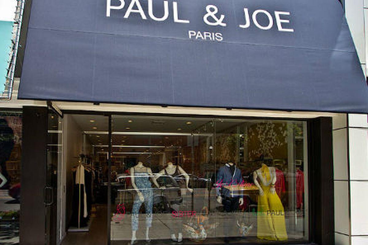 "Photo via <a href=""http://www.robertsonboulevard-shop.com/Stores/Paul_and_Joe.html"">World Travel Shop</a>"