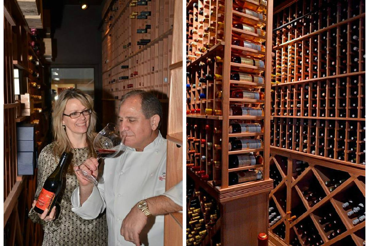 Molly Wismeier with Chef John Folse