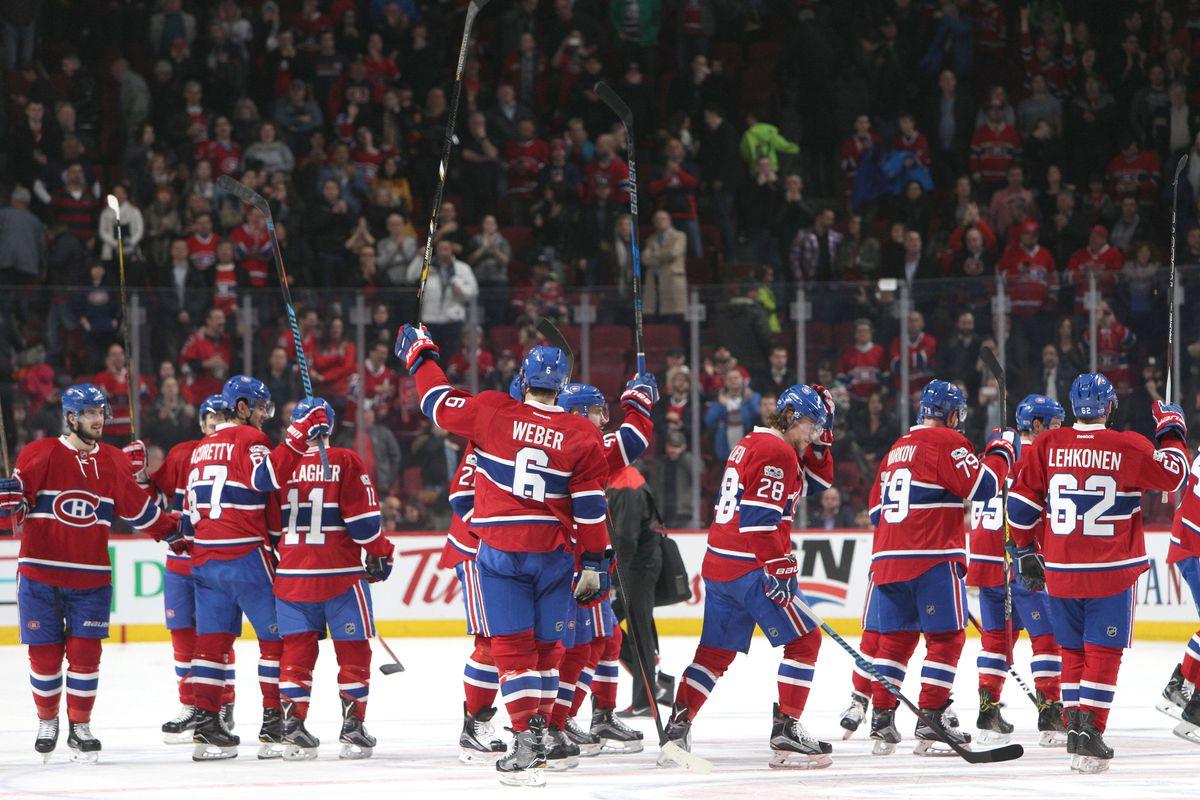NHL: Ottawa Senators at Montreal Canadiens