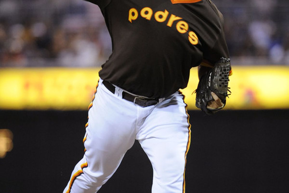 """The Padres should totally bring back their old """"cheeseburger"""" color scheme. Although perhaps not this particular design."""