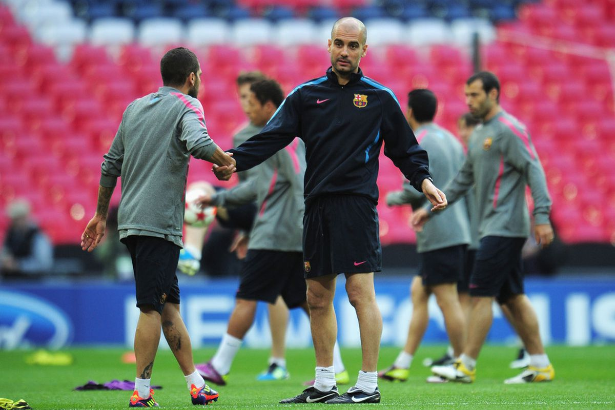 Less than a week from now Barcelona players will be back in training