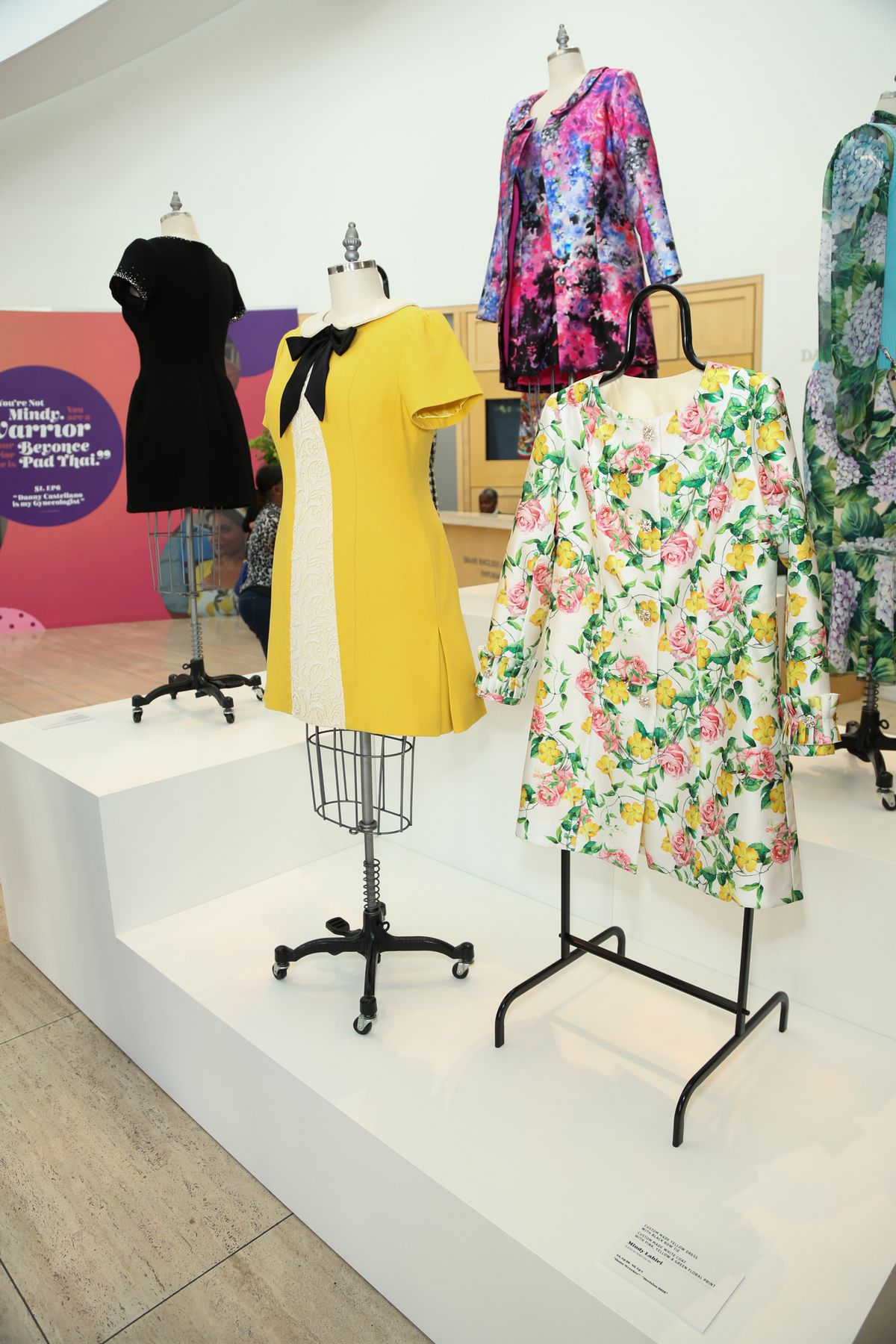 Looks on display at 'The Mindy Project': 6 Seasons Of Style at The Paley Center for Media