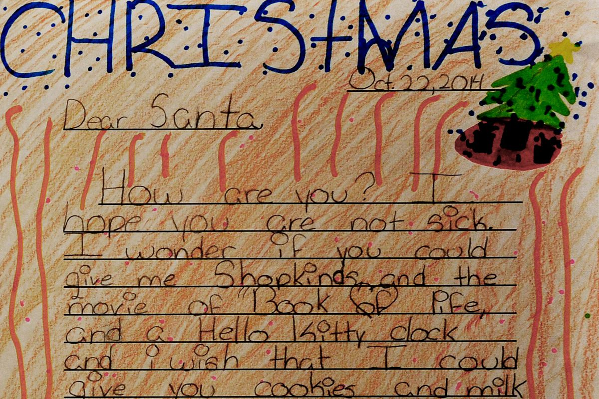 Sun-Times Letters to Santa: Thank you for helping us bring gifts to Chicago children