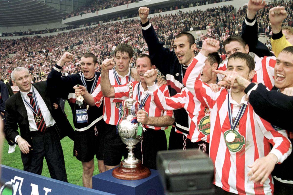 Sunderland Team & trophy