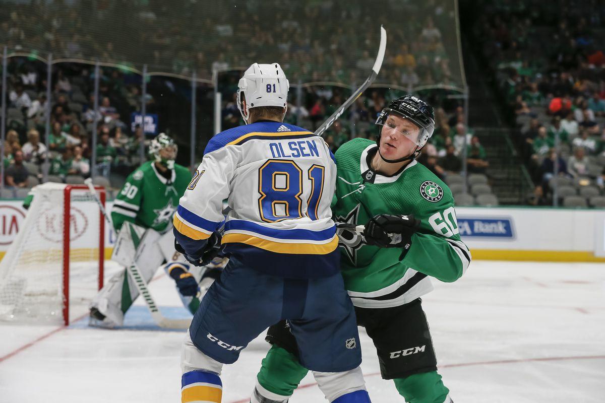 NHL: SEP 16 Preseason - Blues at Stars